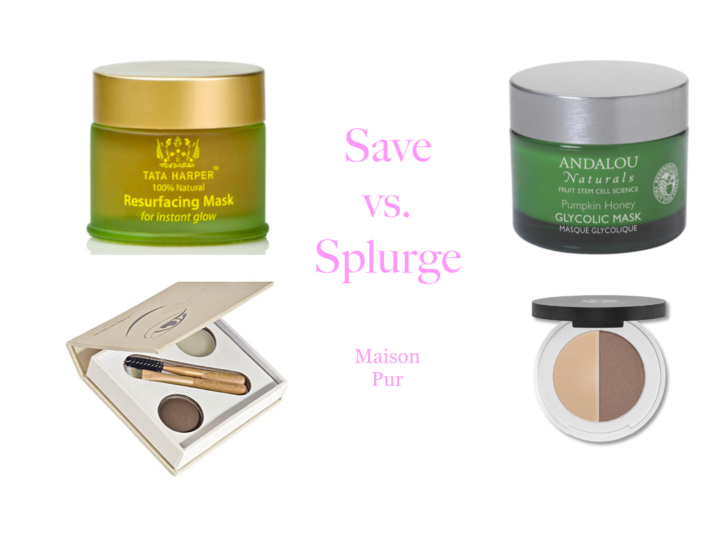 Save vs. Splurge